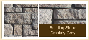 Building Stone Smokey Grey