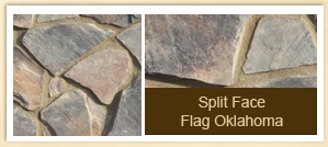 Split Face Flag Oklahoma
