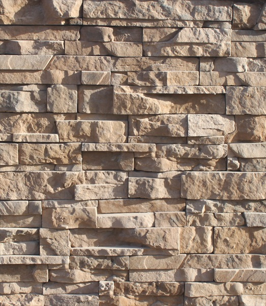 Stacked Stone Home Exterior: Natural Rocks Construction Landscaping Brick Veneer